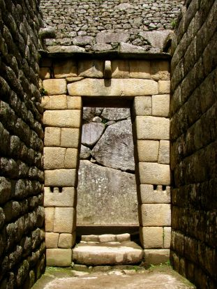 Doorway - Machu Picchu